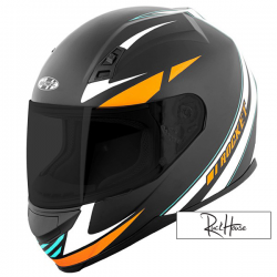 Helmet Joe Rocket Reactor Series Black/Orange/Blue