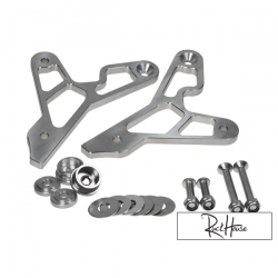 Rear Sets Backs Peg Bracket TRS Open