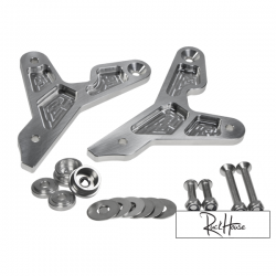 Rear Sets Backs Peg Bracket TRS Milled Honda Ruckus