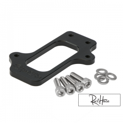 Mikuni DF-44 Composimo Fuel Pump Bracket Black Honda Ruckus