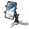 Handlebar Phone Mount kit RAM X-Grip 1.75'' x 4.5''