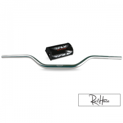 Handlebar Fly Racing Aero Tapered Silver 1-1/8'' (740mm)